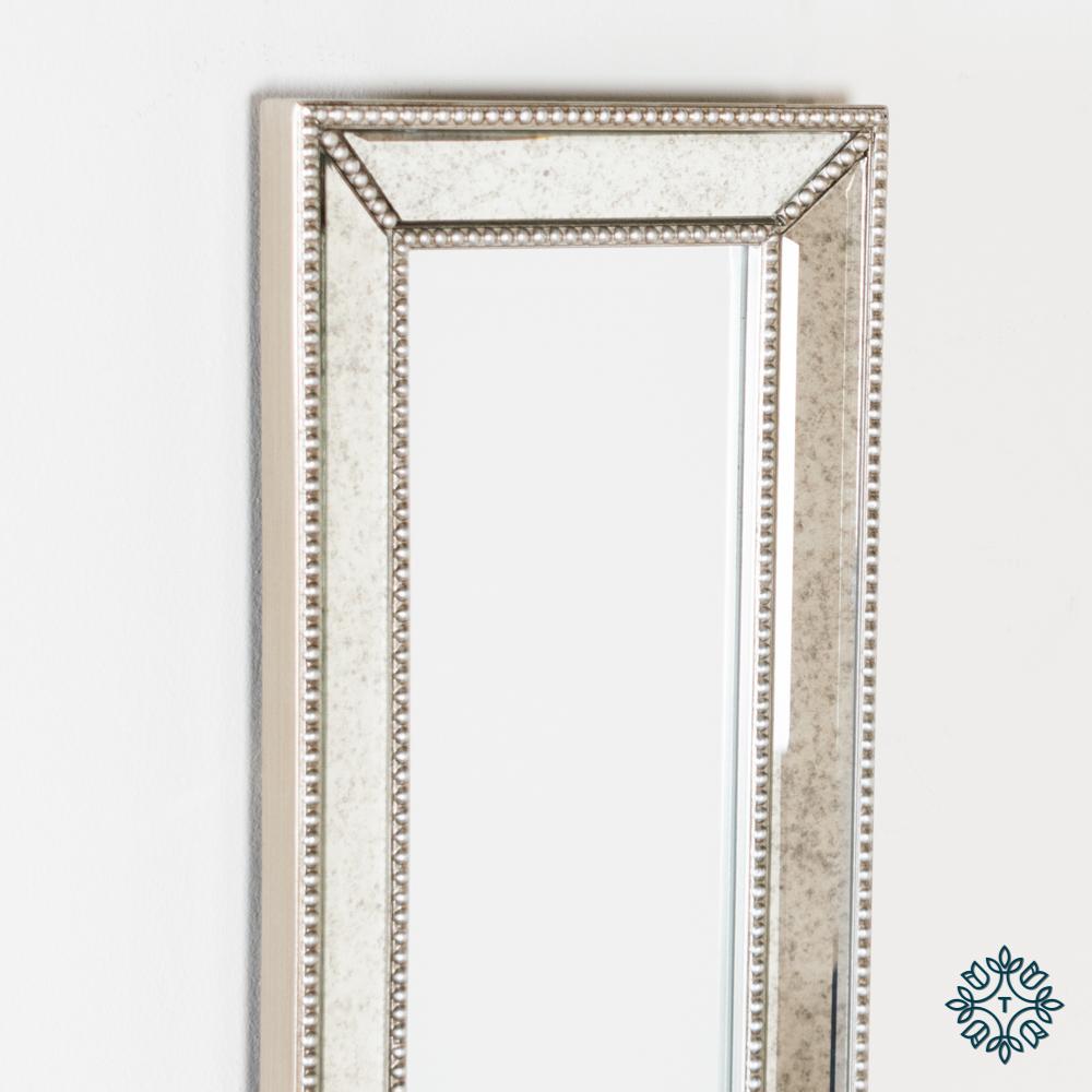 Reflections slim mirror antique glass 120x23