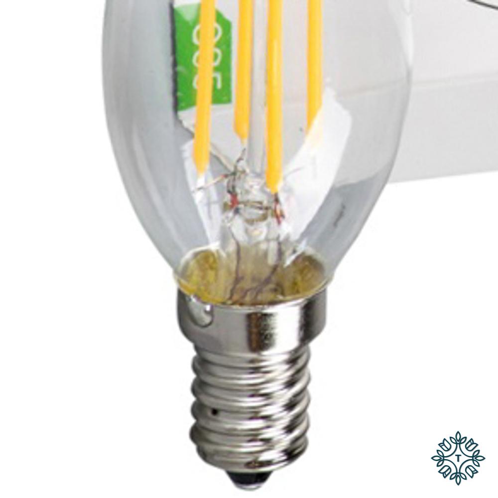 Lightbulb led 4w warm white