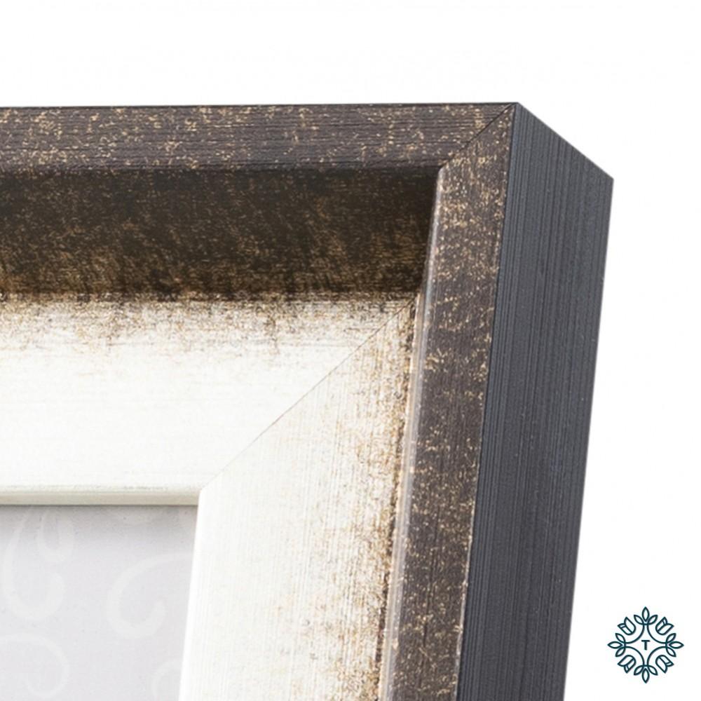 Abigail photo frame brown 4x6