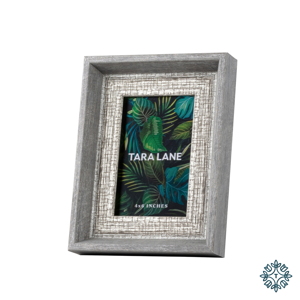 Abigail photo frame grey 4x6