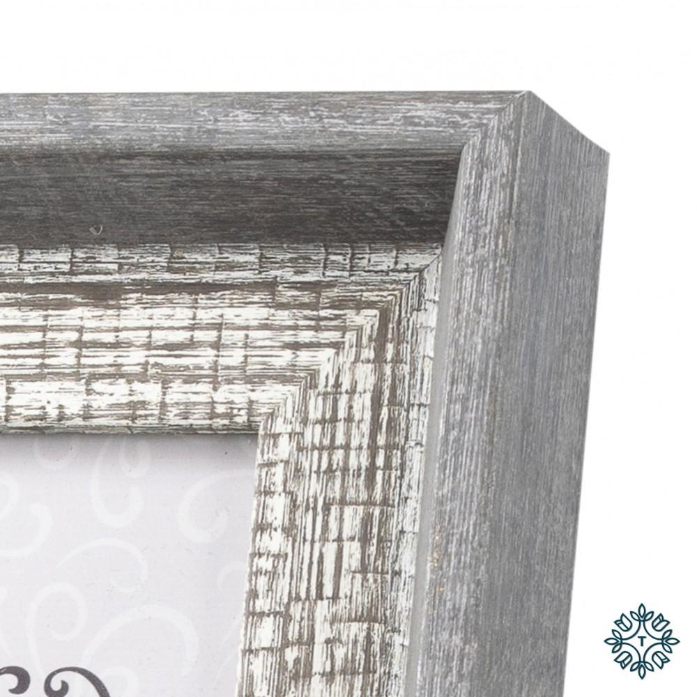 Abigail photo frame grey 4x6