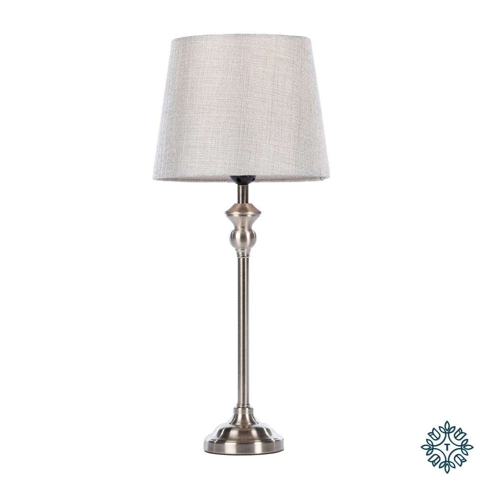 Dani mini buffet lamp silver/grey 53cm