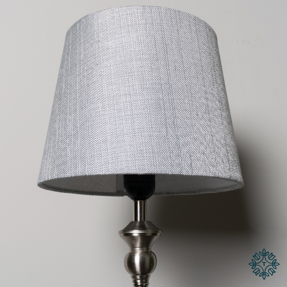 Dani mini buffet lamp silver/grey 53cm