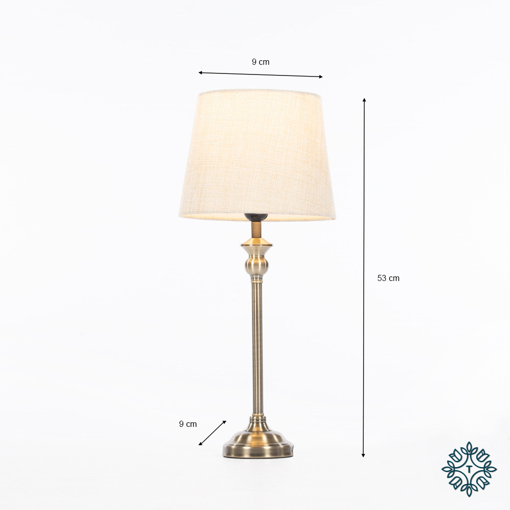Dani mini buffet lamp bronze 53cm