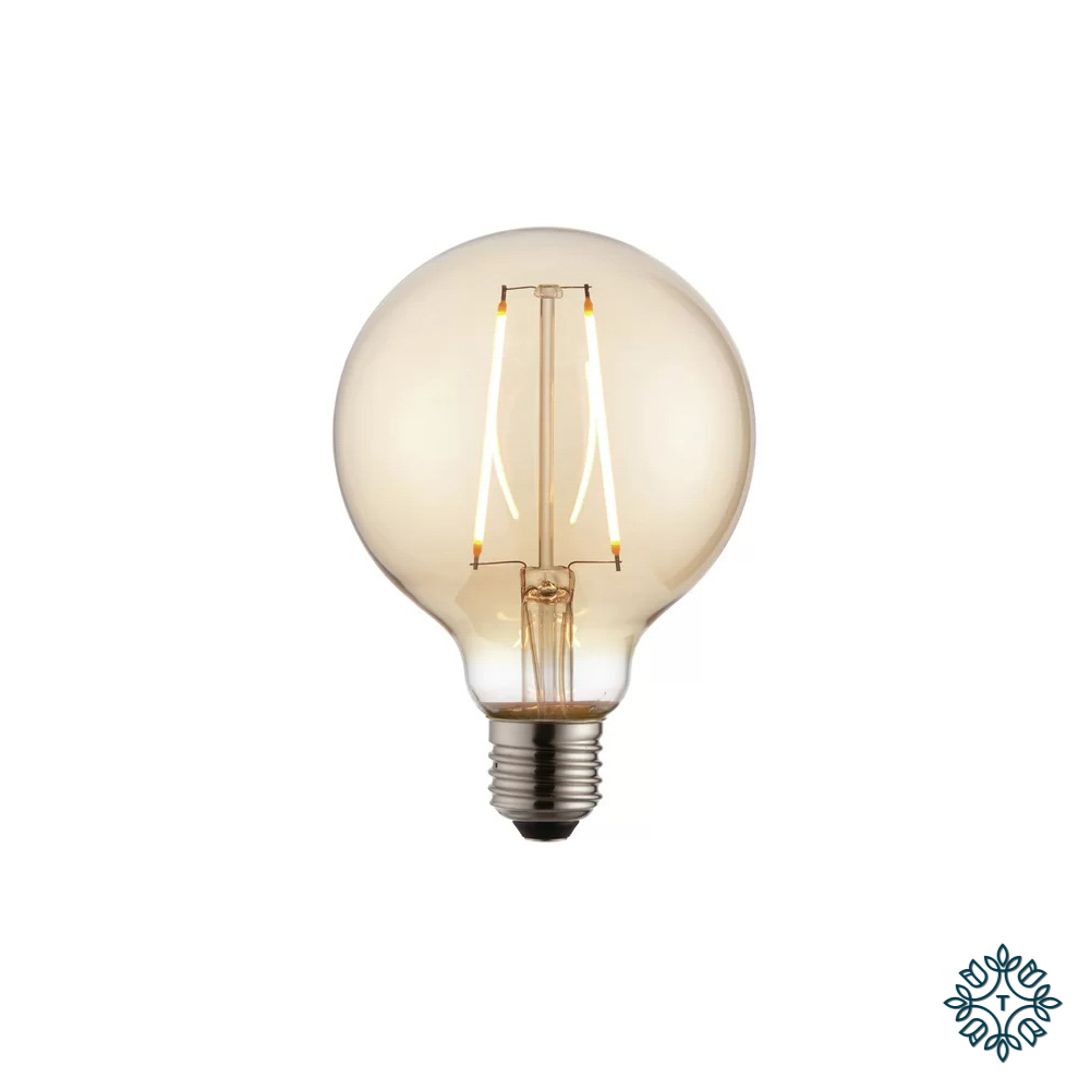 2w lightbulb amber