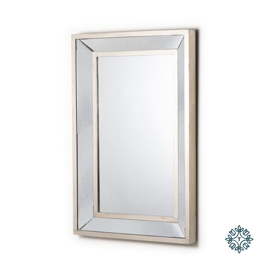 Varese aged wall mirror