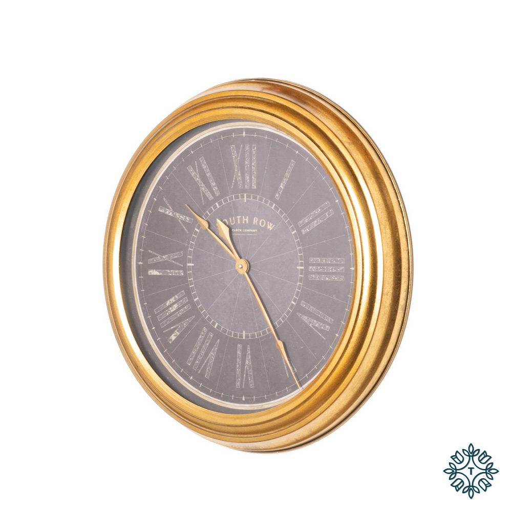 Amelia wall clock gold 60cm