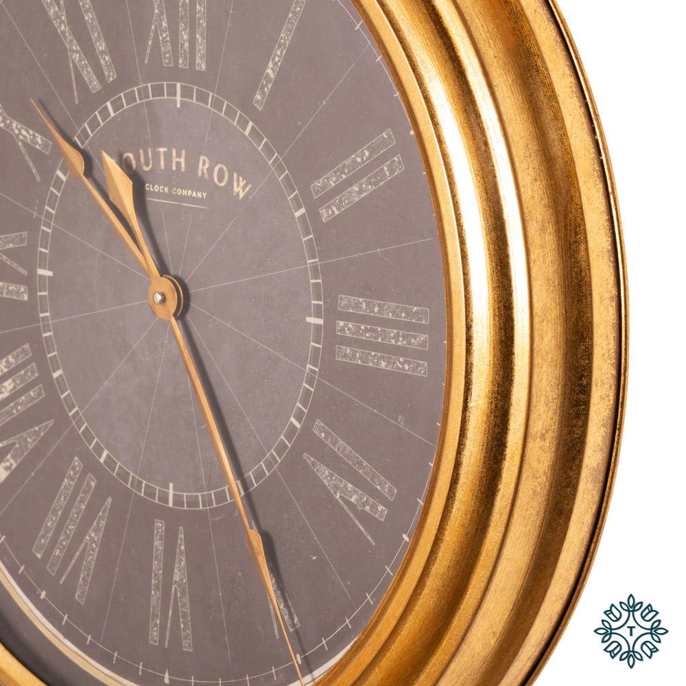 Amelia wall clock gold 60cm