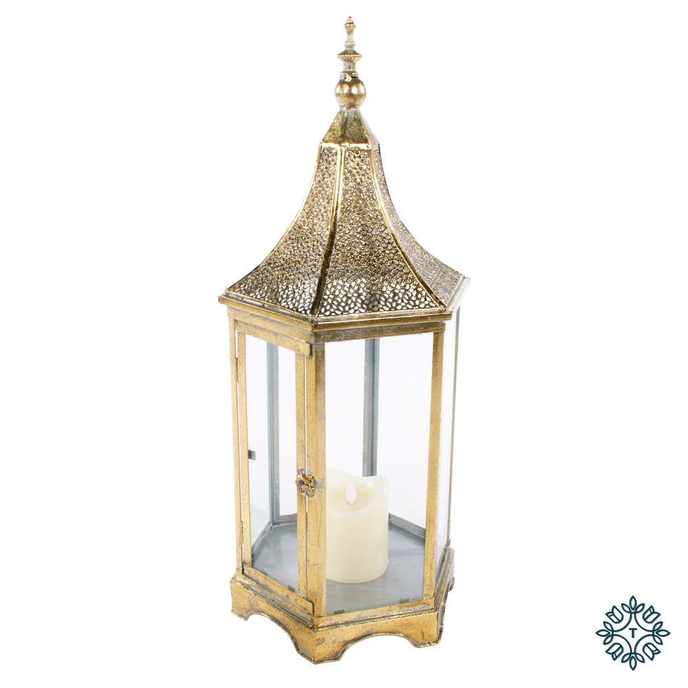 Sylvia hex lantern gold