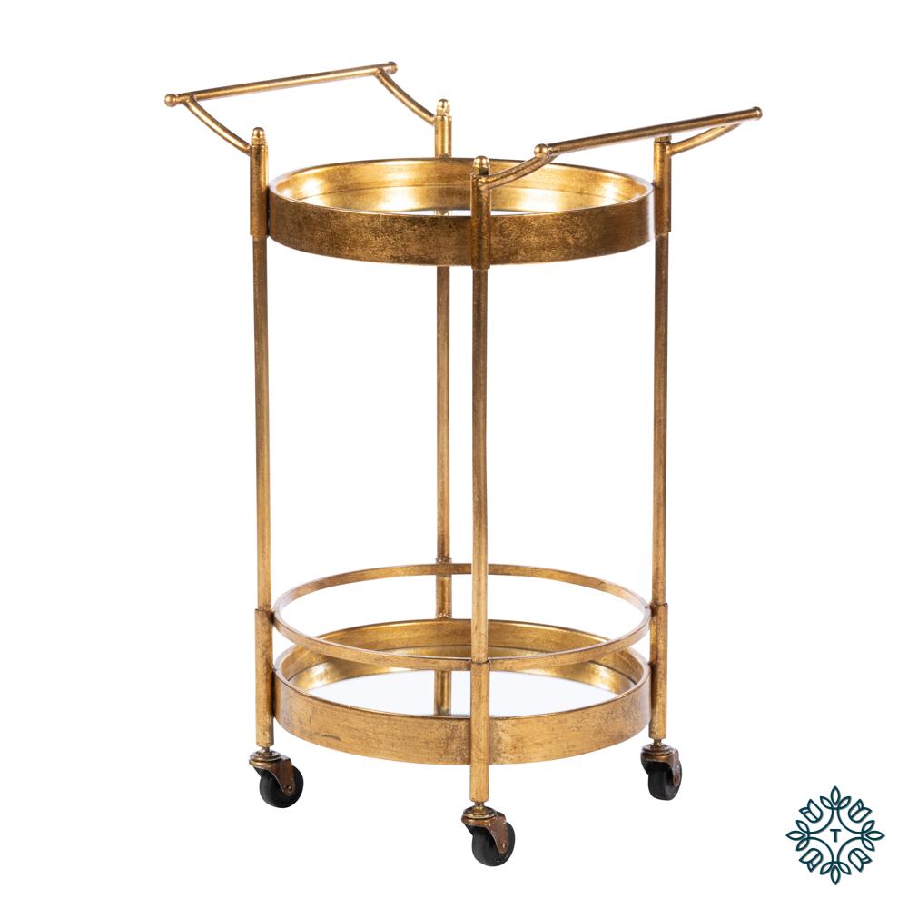 Harriet drinks trolley round gold