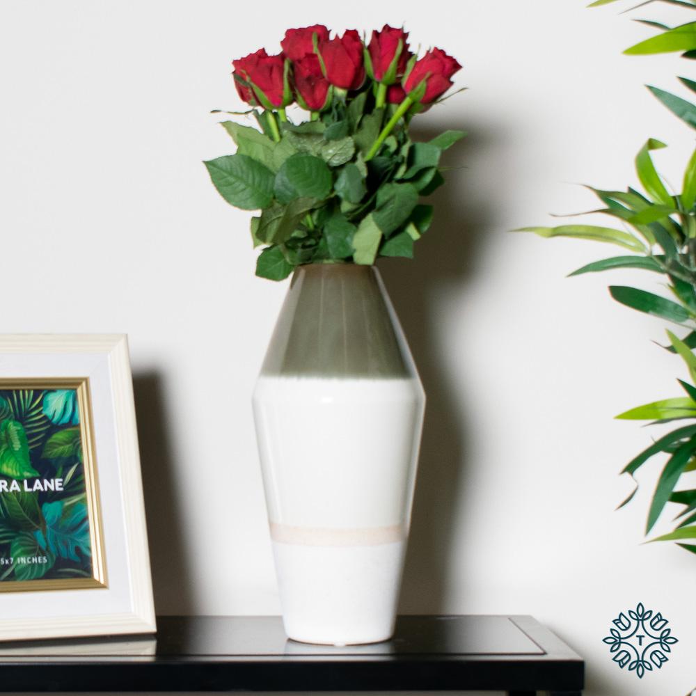 Parma ceramic vase 31cm