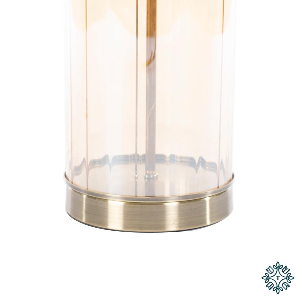Carlee table lamp bronze 66cm