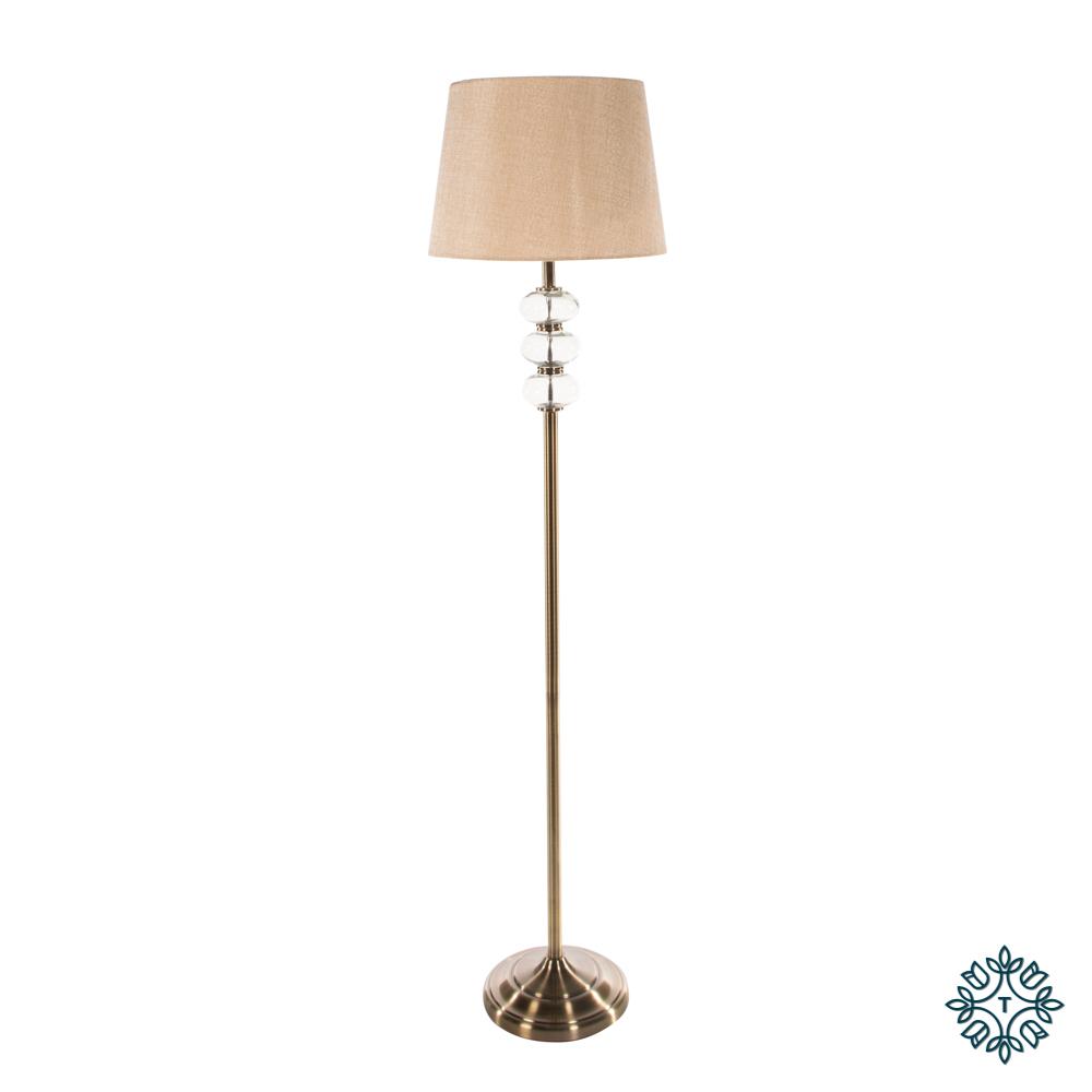 Jane floor lamp bronze/gold 158cm