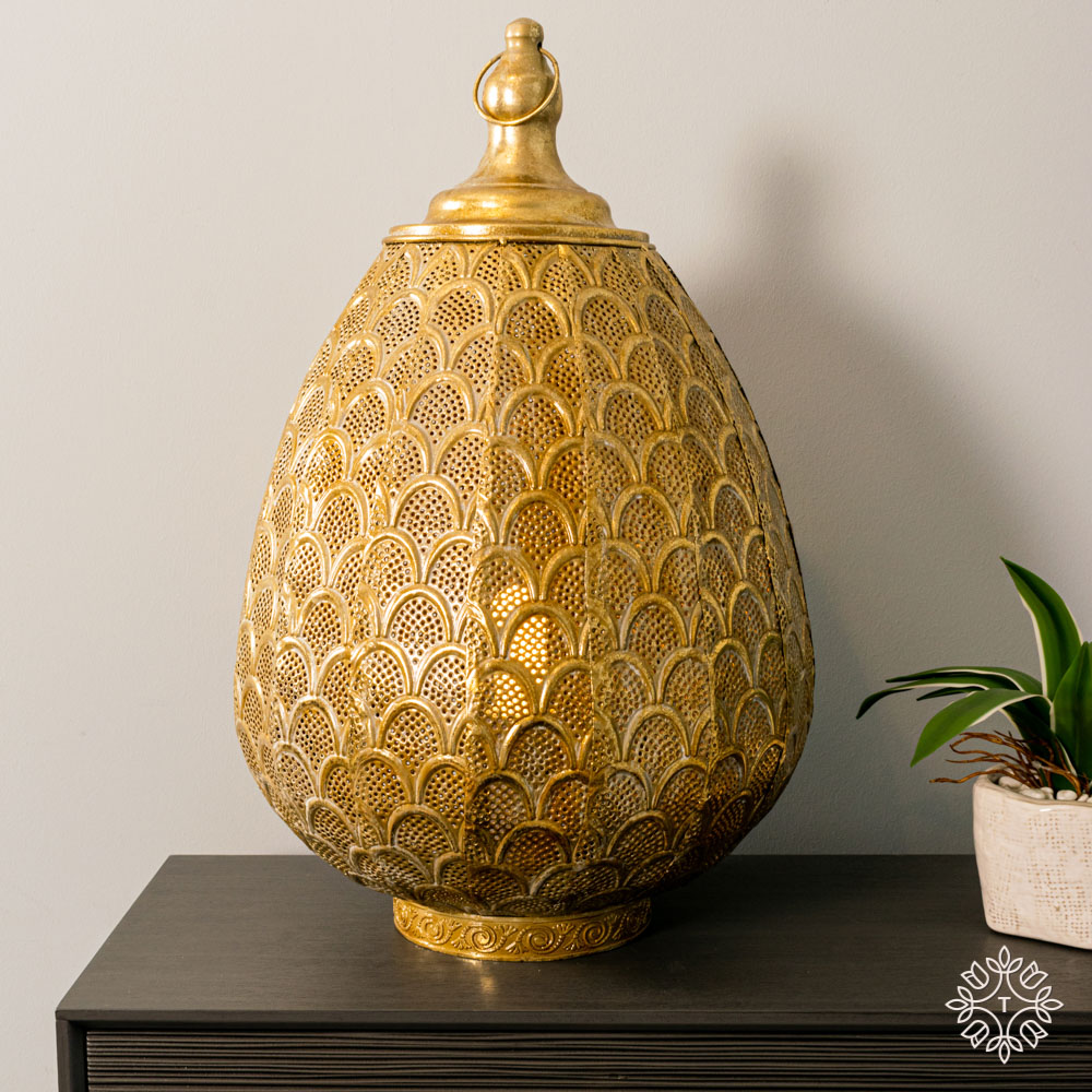 Casablanca table lamp gold 50cm