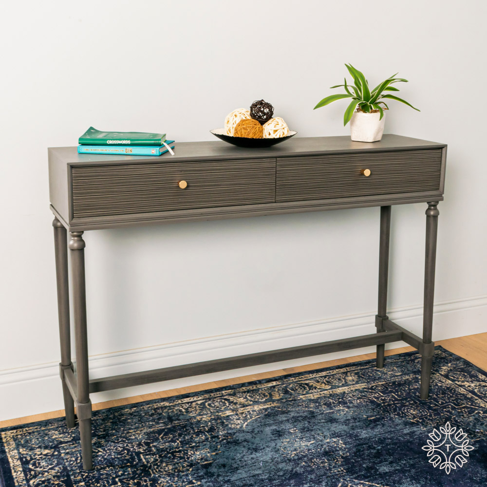 Brooklyn console table 2 drawer
