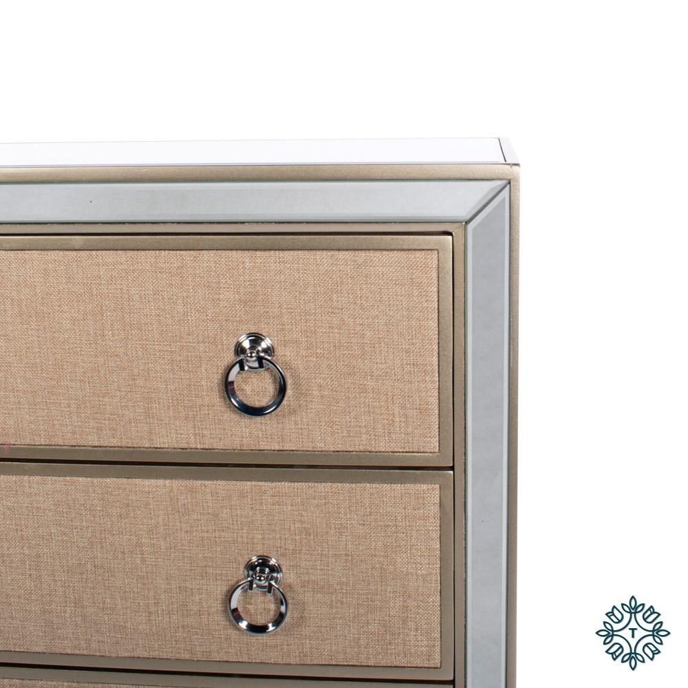 Hayden mirrored dresser 3 drawer
