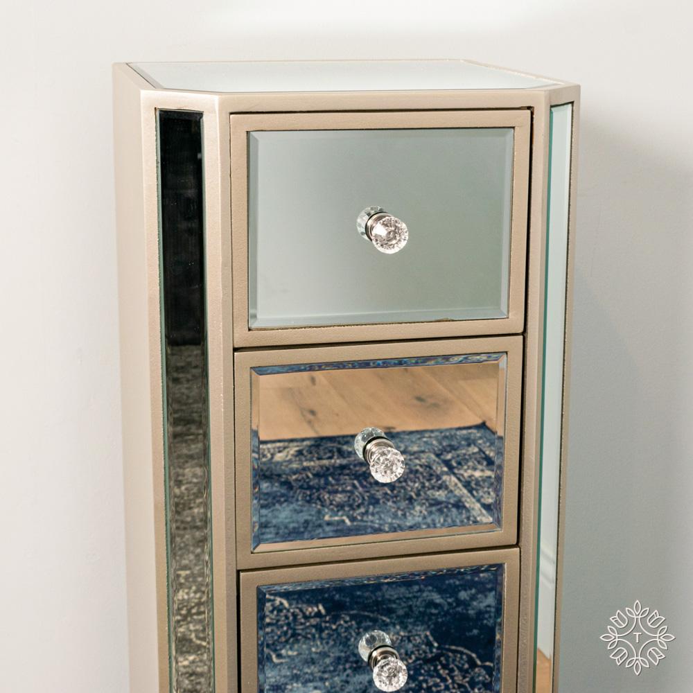 Reflections mini tallboy 4 drawer