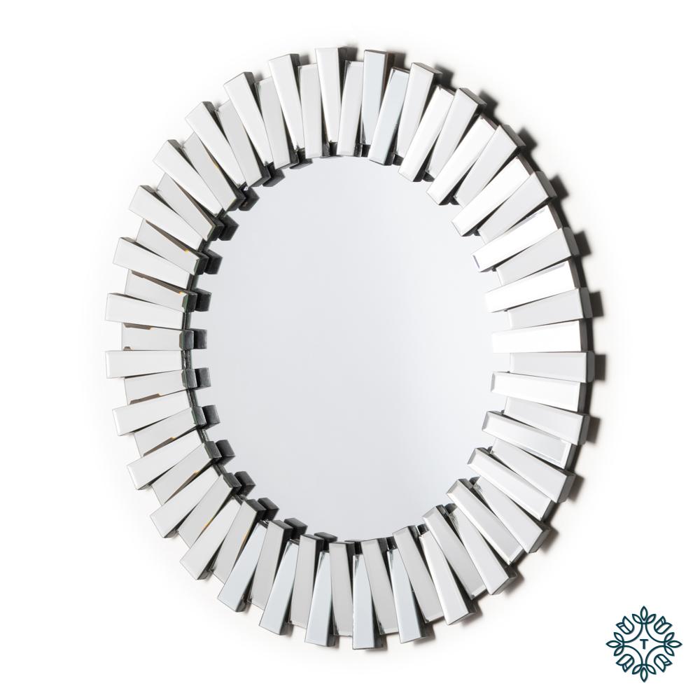Link 3d mirror round 90cm