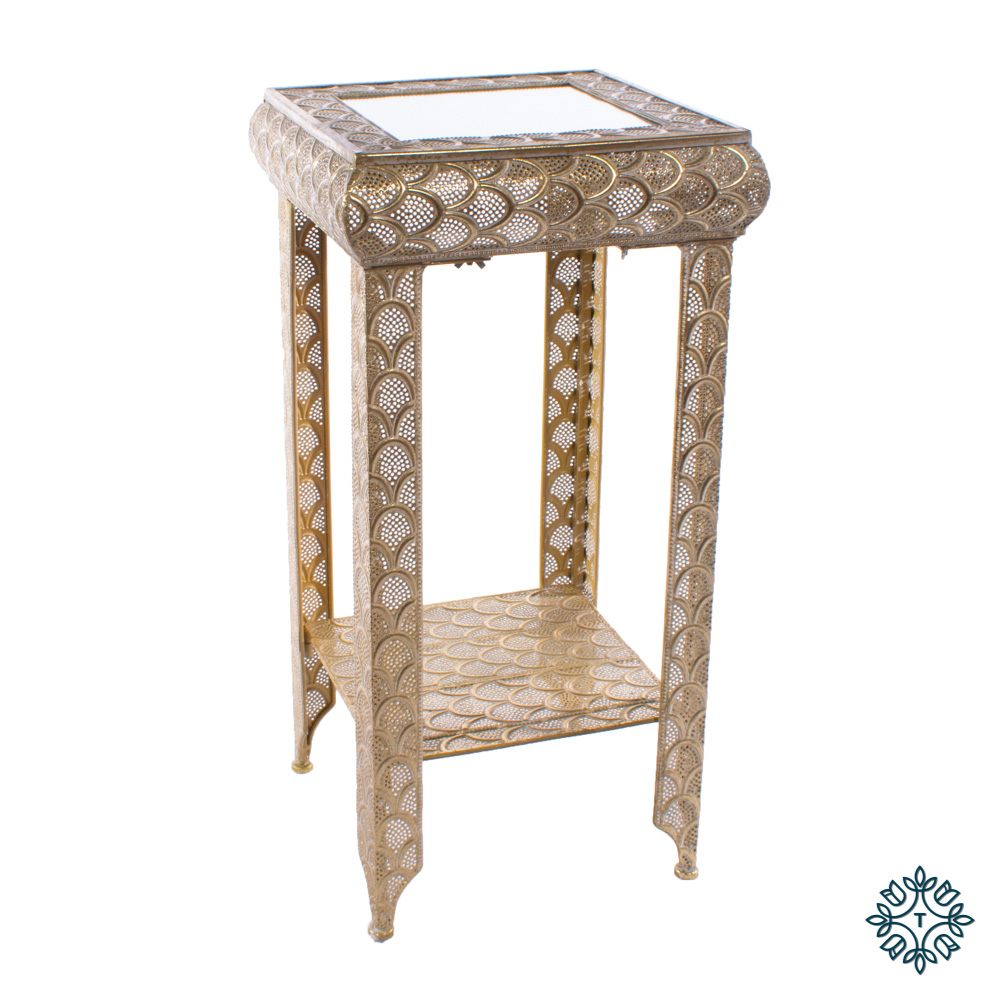 Casablanca plant stand gold