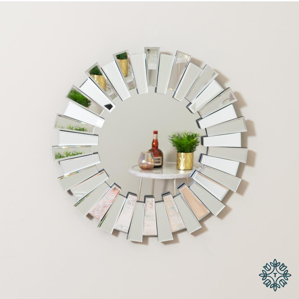 Link 3d mirror round 60cm