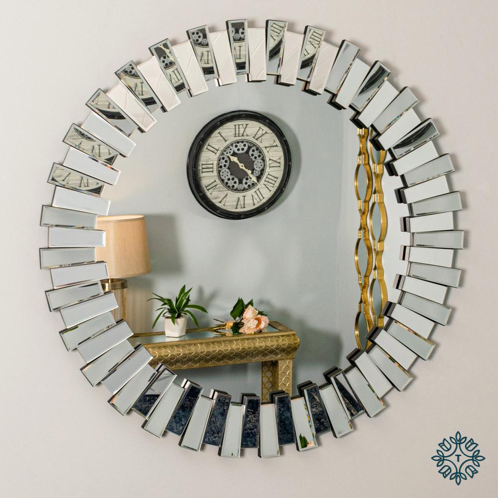 Link 3d mirror round 100cm