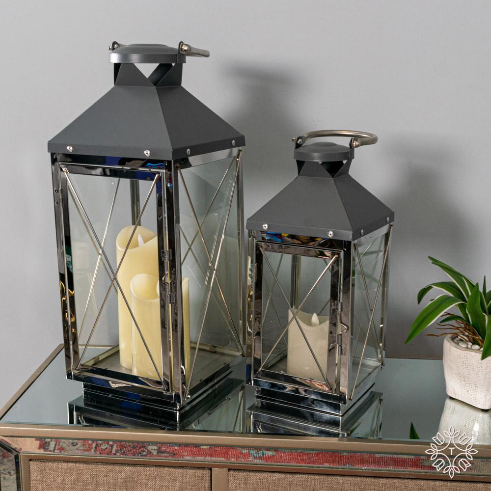 Nova s/2 lanterns chrome/grey med/sml