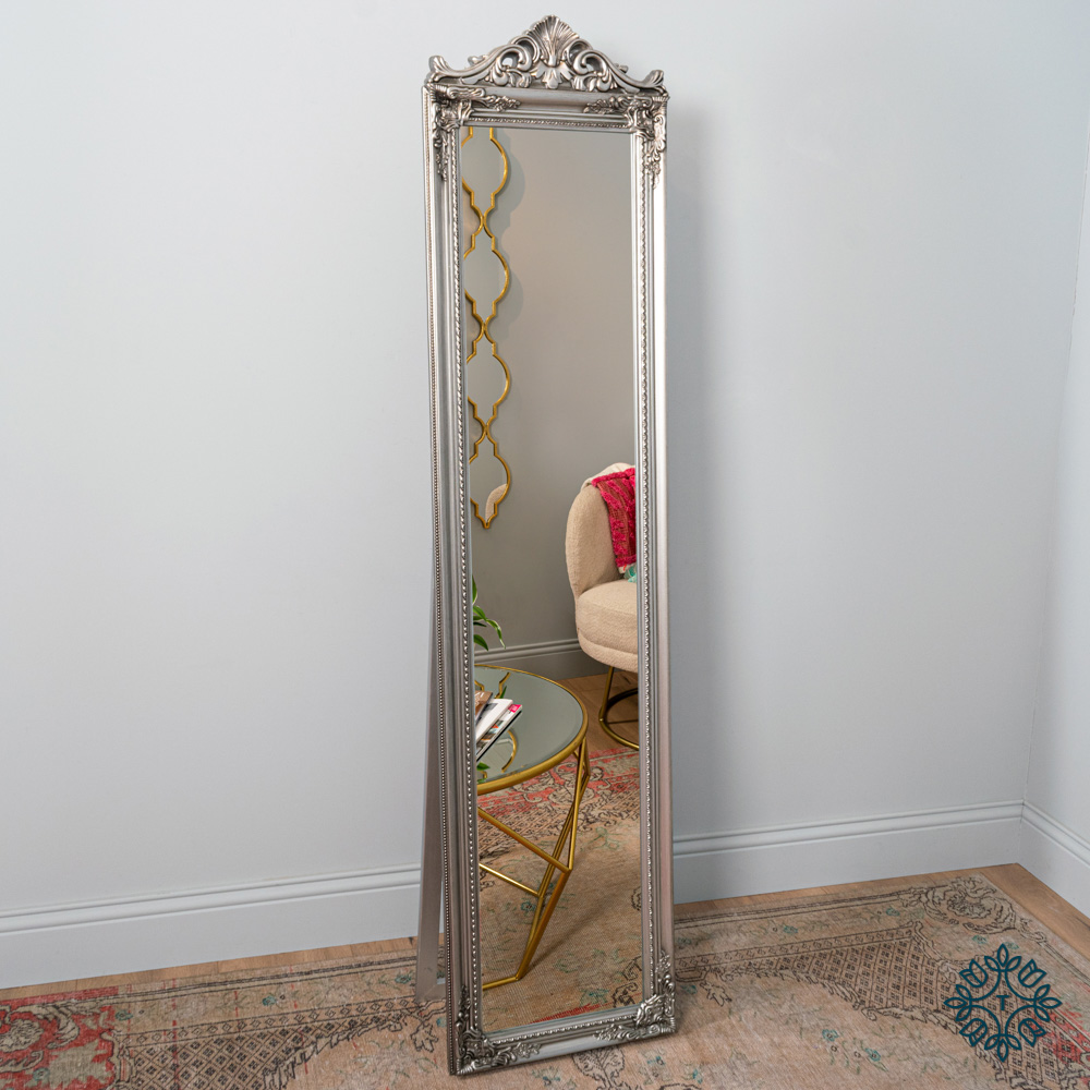 Chateau cheval mirror silver