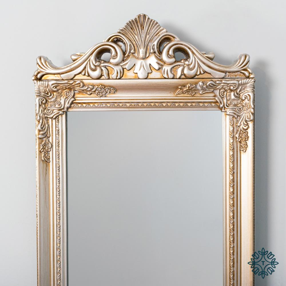 Chateau cheval mirror champagne