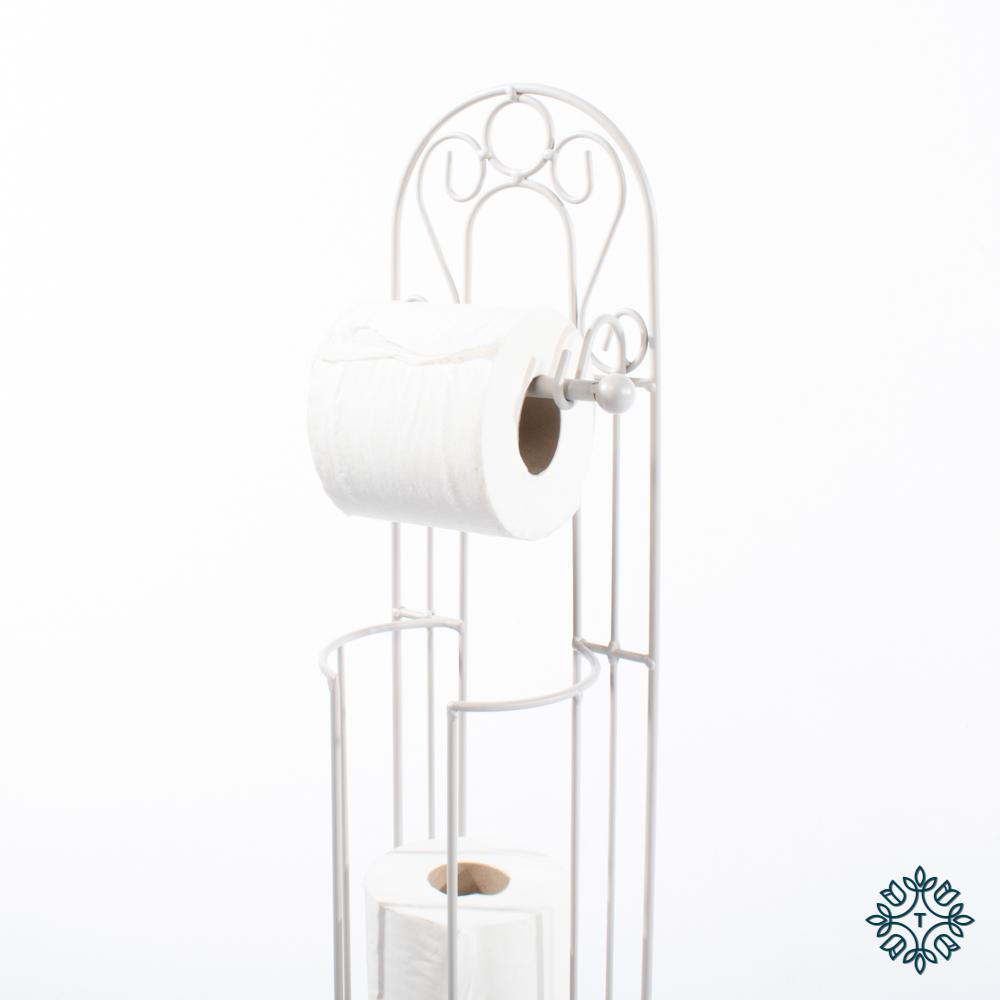 Lorient toilet roll holder grey