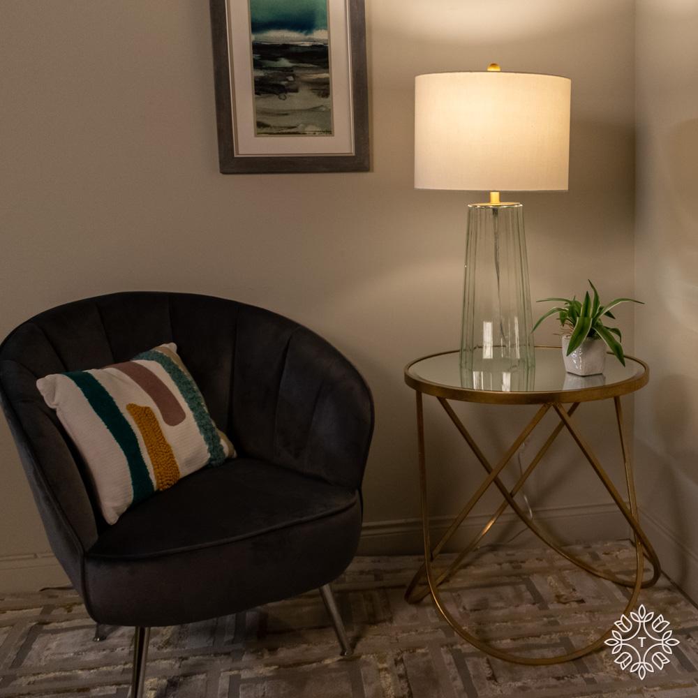 Jessa table lamp glass 66cm