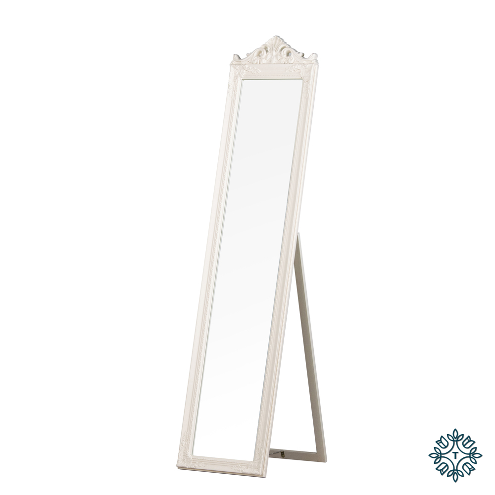 Chateau cheval mirror cream 40x172cm