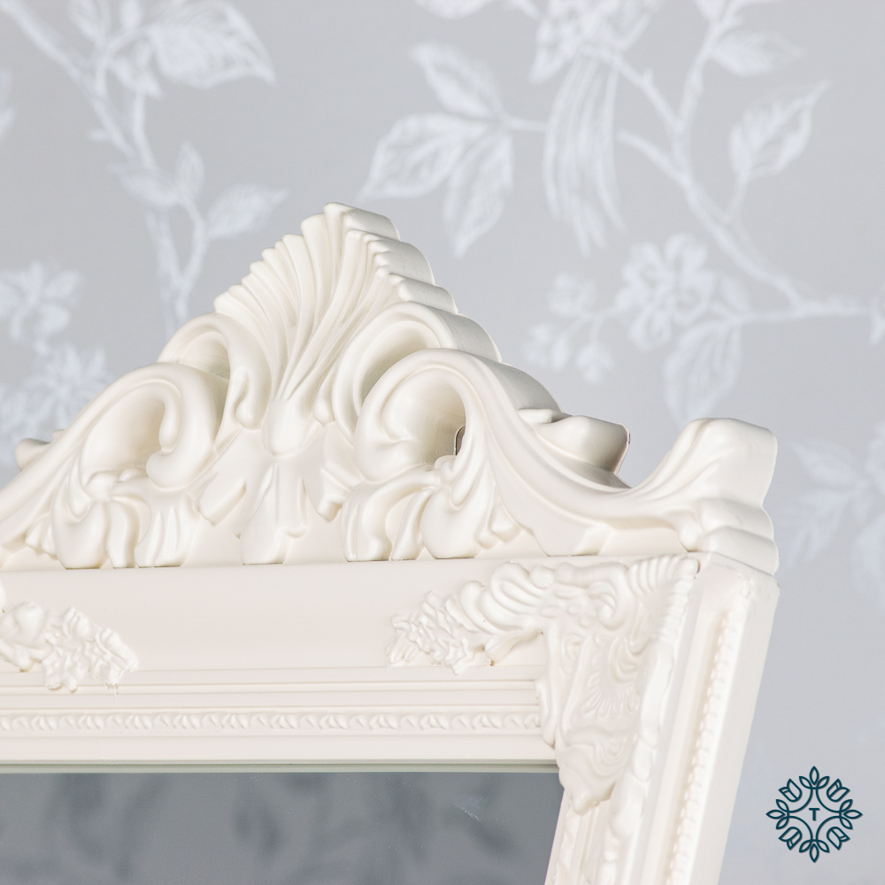Chateau cheval mirror cream 40x172cm