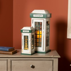 Classic phonebox lanterns